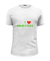 Футболка Хоумстак Я люблю Homestuck