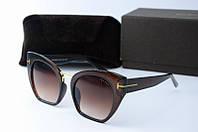Солнцезащитные очки Tоm Ford коричневые, фото 1