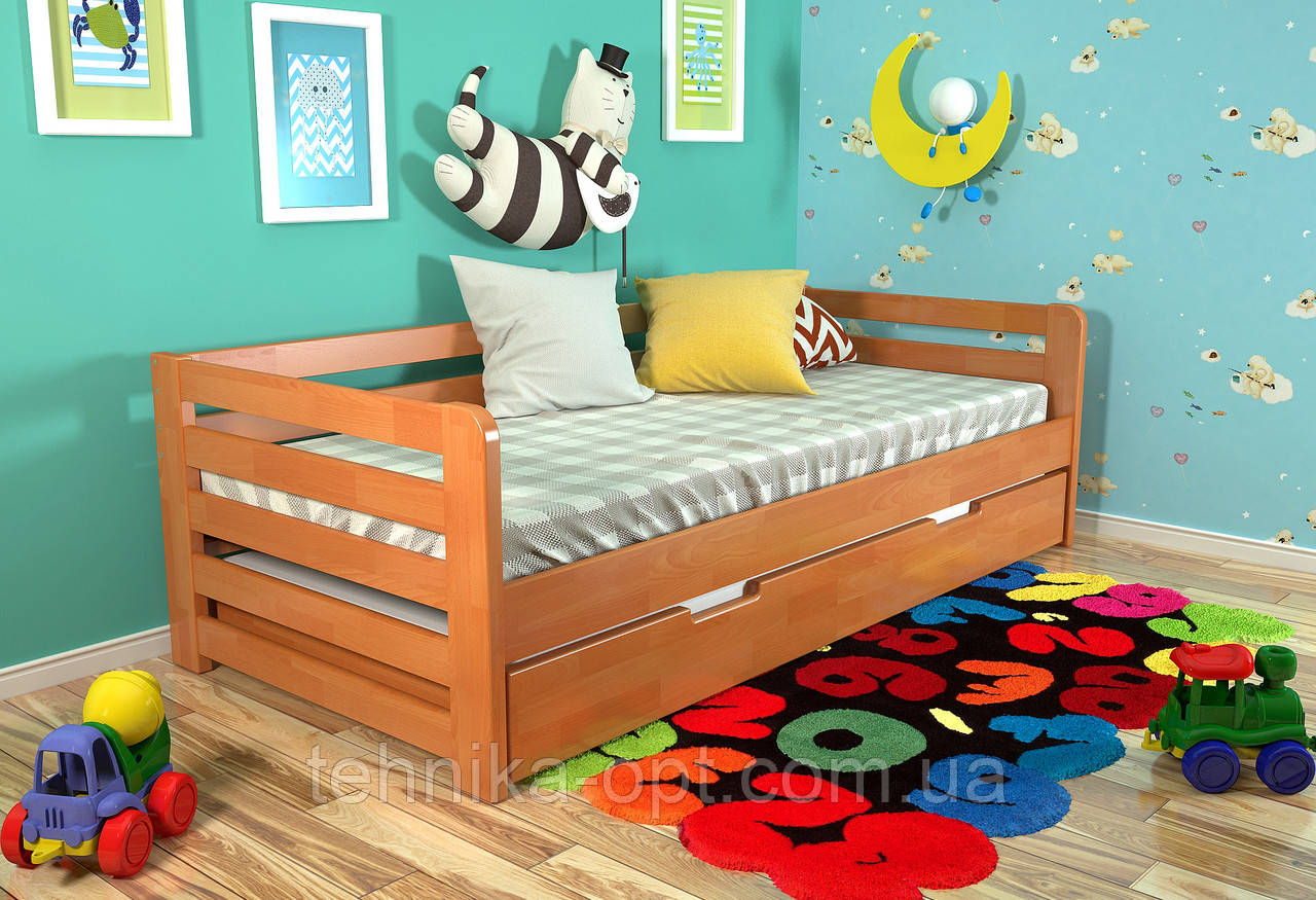 Детская кровать Arbordrev Немо (90*200) сосна
