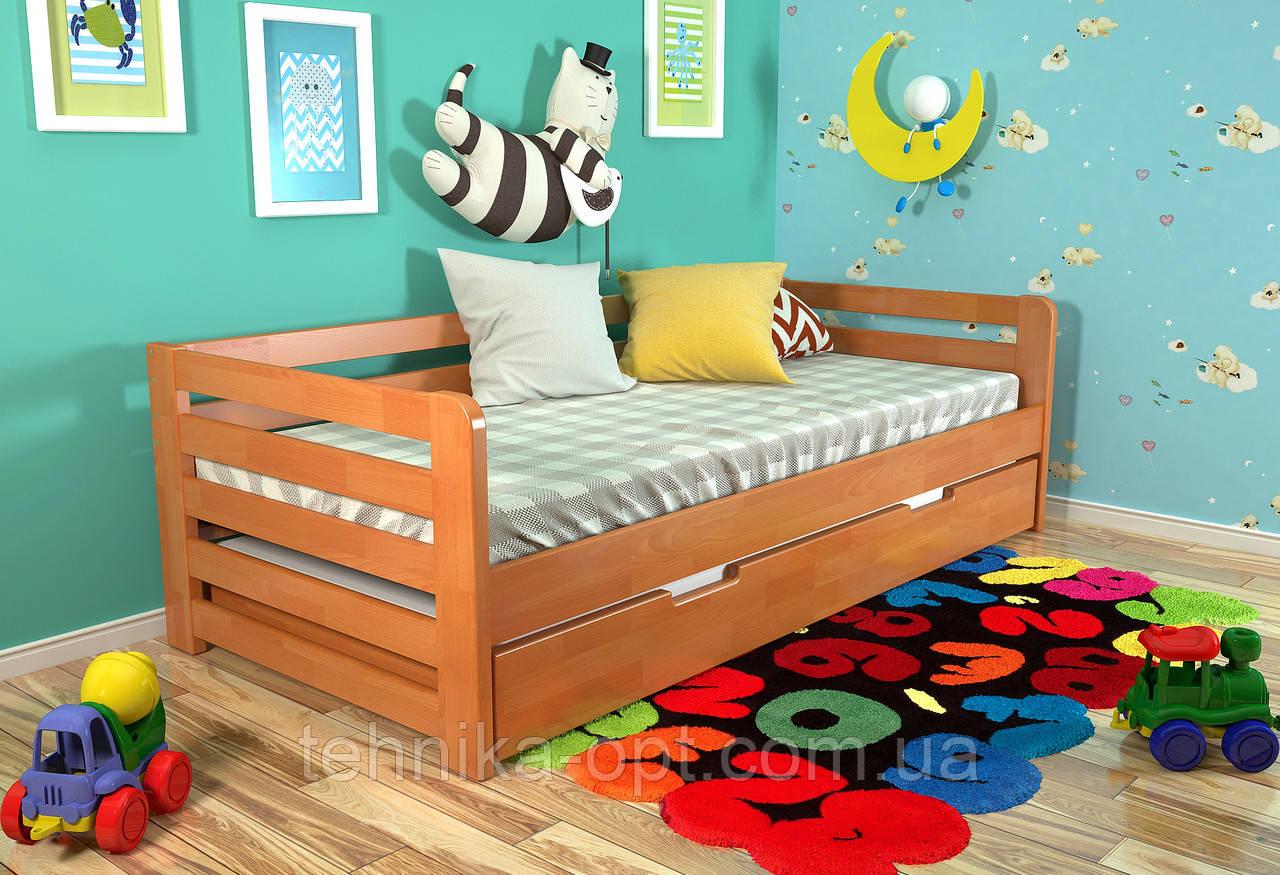 Детская кровать Arbordrev Немо (90*190) бук