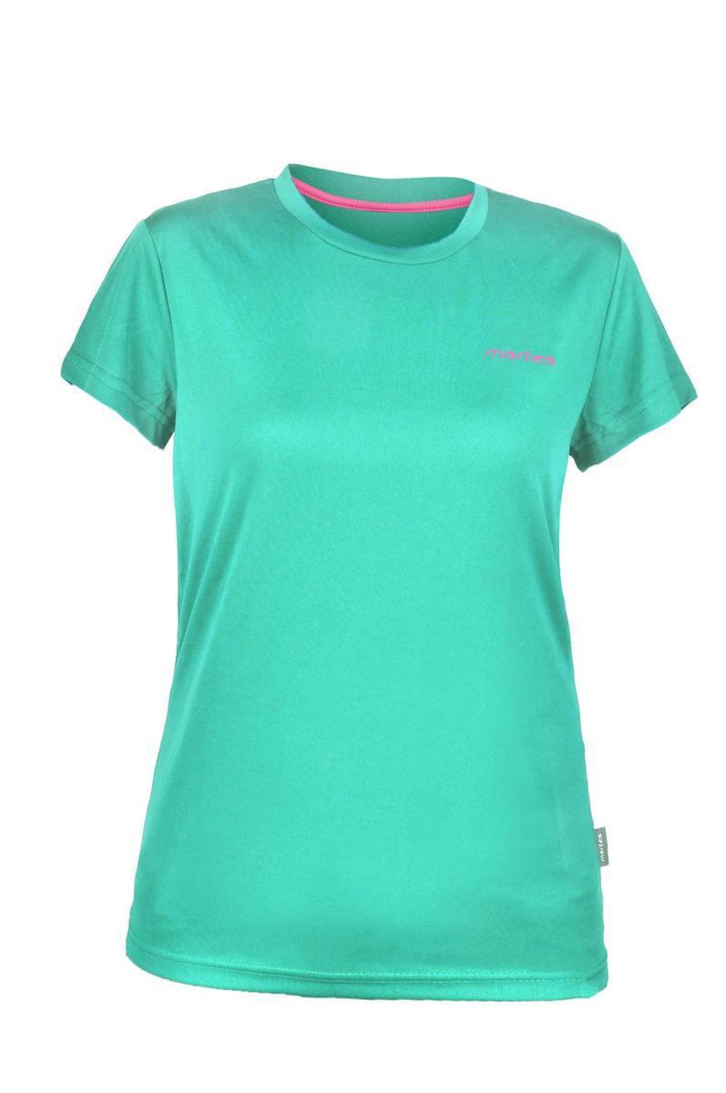 Женская футболка Martes Lady Solan MINT-PINK