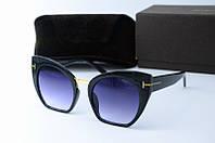 Солнцезащитные очки Tоm Ford черные, фото 1