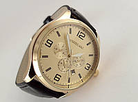 Мужские часы Montblanc кварцевые, цвет корпуса золото