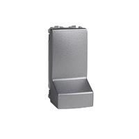 Адаптер для подсоединения кабеля 1 м Schneider Unica Алюминий (MGU3.860.30)