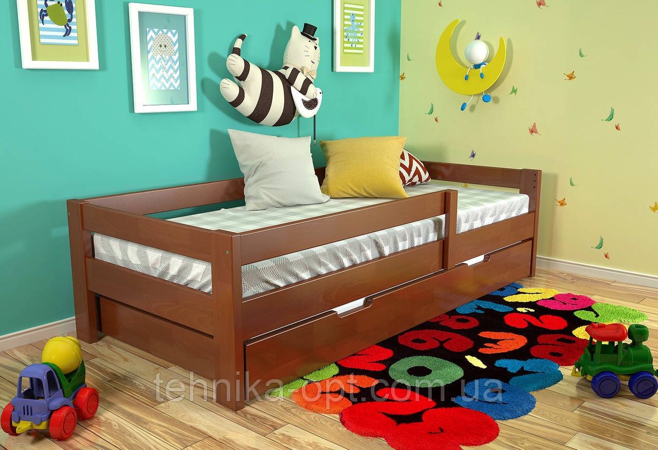 Детская кровать Arbordrev Альф (90*200) бук