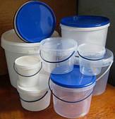 Пищевые пластиковые ведра,судки, бутылки