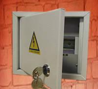 Щит освещения (ЩО) на 12 автоматов наружный (ЛОЗА) размеры: 165х275х100