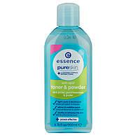 Essence pure skin Anti Spot toner & powder - Очищающий тоник для лица