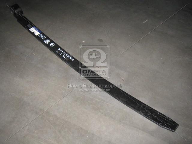 Лист рессоры задней №2 Hyundai 5 Ton Class 98-/HD 04-/HMD230/260 02- (пр-во Mobis) . 5511262000 . Ціна з ПДВ.