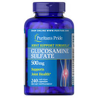 "Puritan's Pride Gl Sulfate ""Здоровые суставы"" 500 мг"