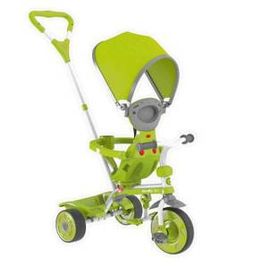 Y STROLLY Детский велосипед Spin, зеленый
