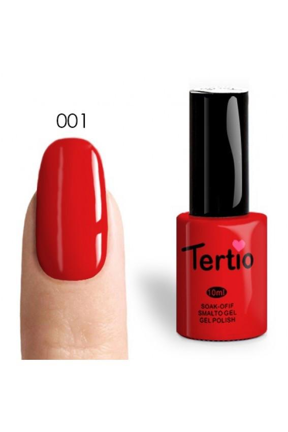 Гель лак tertio №001