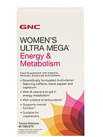 GNC Womens Ultra Mega Energy Metabolism 90 caps