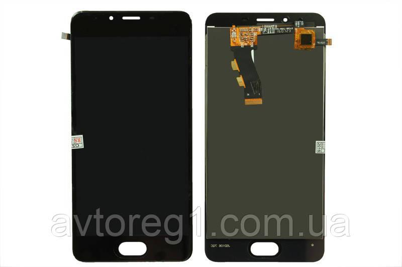 Дисплей Meizu U10 (U680H) with touchscreen black orig