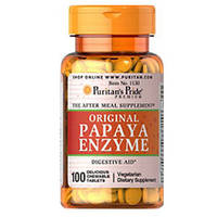 Рuritan's pride original papaya enzyme 100 таблеток