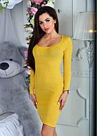 Платье из теплой, зимней ангоры с люрексом( красиво блестит), два цвета, р.42-44,46-48 код 5322Л