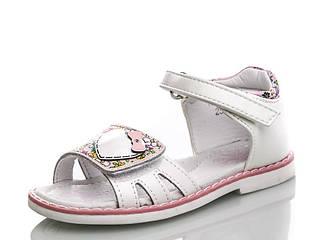 Обувь для девочек, детские босоножки белые Tom.m