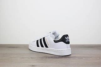 Женские кроссовки Adidas Superstar Core White, фото 3