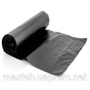 Пакеты для мусора HD 60л 40 шт  чёрные