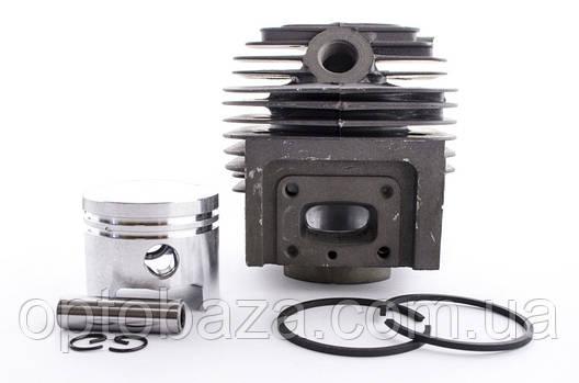 Цилиндро-поршневая группа 44 мм (черная) для мотокос серии 40 - 51см, куб, фото 2