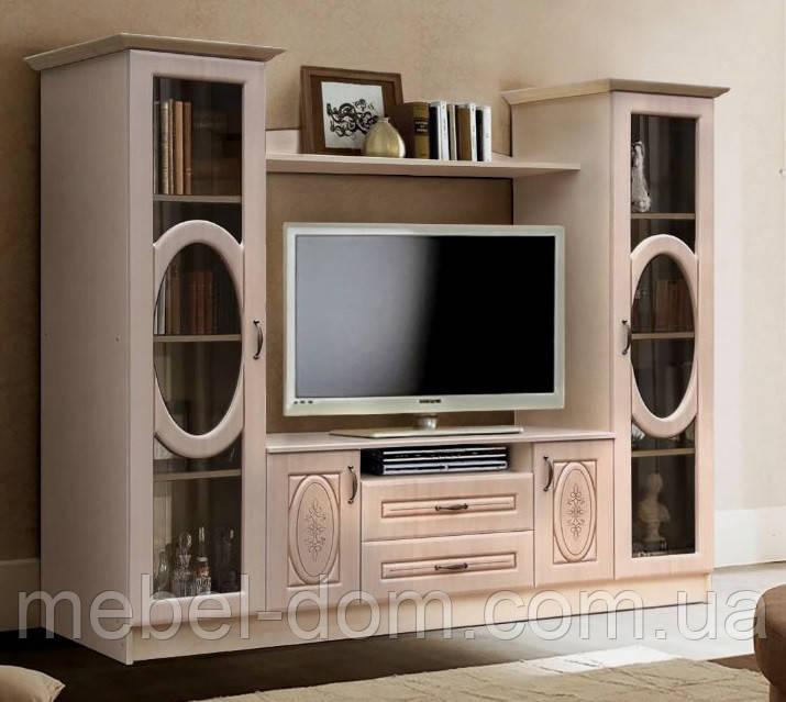 06c1499bf Горка, стенка в гостиную Василиса - Мебельный Уют - мебель для Вашего дома  в Киеве