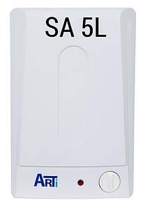 Бойлер (водонагреватель) ARTI WH COMPACT SA 5L/1 на 5 литров, над мойкой, электрический
