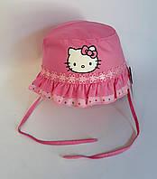 Головной убор для девочки. Панамка Hello Kitty Размер 48 UGR-328(48) Турция