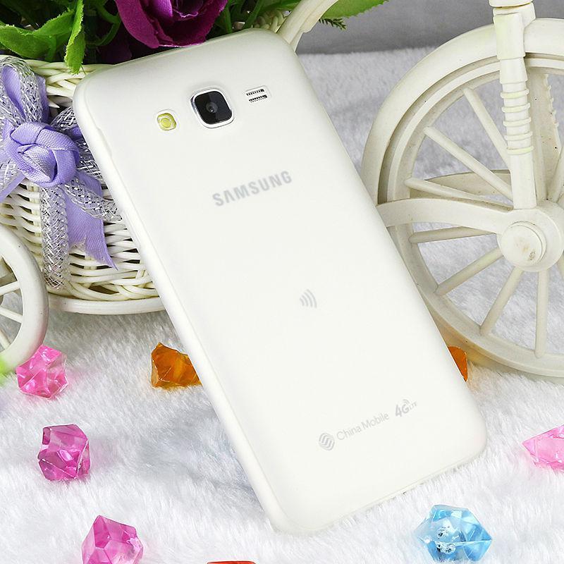 Чехол Style для Samsung J5 2015 / J500 Бампер силиконовый белый