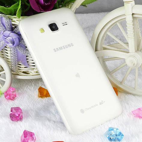 Чехол Style для Samsung J5 2015 / J500 Бампер силиконовый белый, фото 2