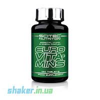 Витамины Scitec Nutrition Euro Vita-Mins (120 таб) скайтек евро витаминс