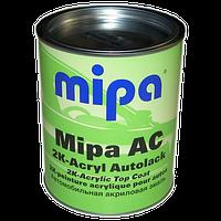 Автокраска акриловая 101 Белый газ MIPA 2К  1л без отвердителя