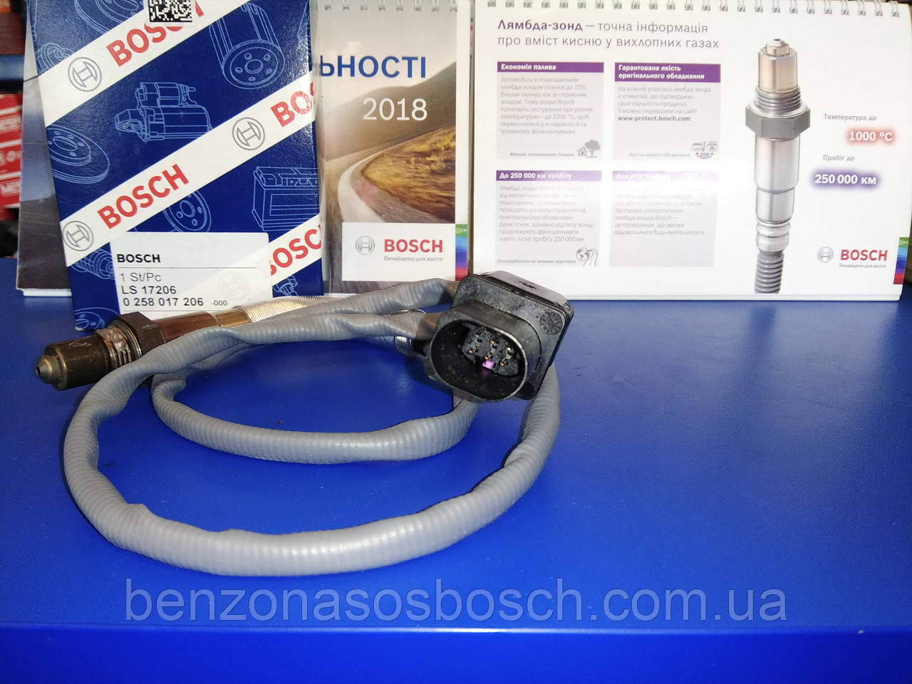 Лямбда-зонд Bosch 0258017206, 0 258 017 206, лямбда-зонд BMW