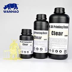 Фотополимер Wanhao Model Полупрозрачный UV 405NM 1л