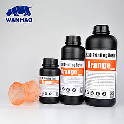 Фотополимер Wanhao Оранжевый UV 405NM 0.5л