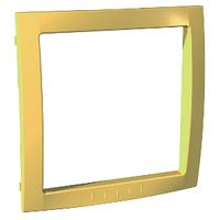 Вставка для рамок Желтый Unica Schneider, MGU4.000.01