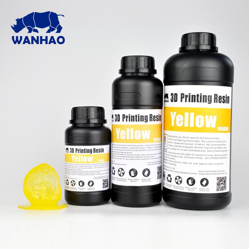 Фотополимер Wanhao Model Желтый UV 405NM 1л
