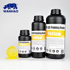 Фотополимер Wanhao Model Желтый UV 405NM 0.5л