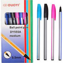 """Ручка шариковая 555A """"Duoyi"""" синяя"""