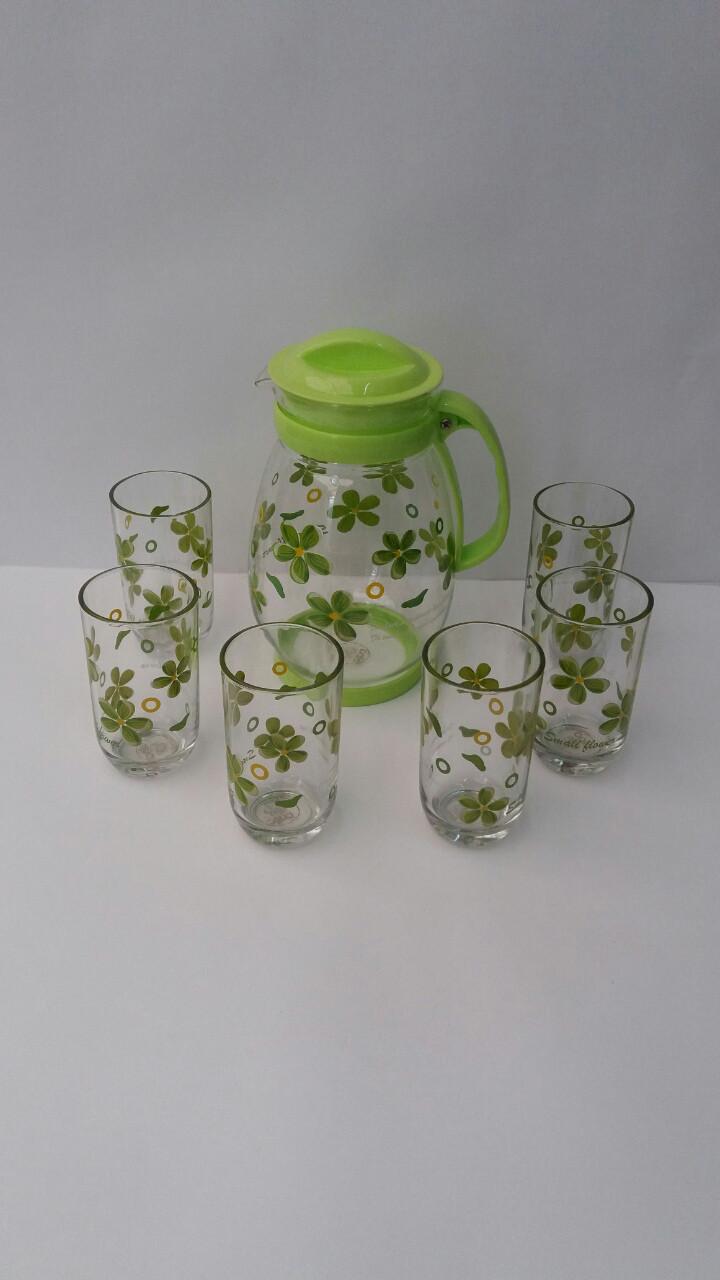 Питьевой набор  кувшин +6 стаканов