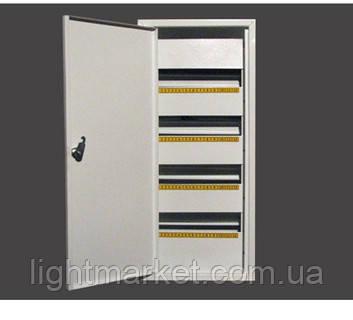 Щит освещения (ЩО) на 48 автоматов наружный (ЛОЗА) размеры: 580х275х100