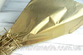 Папір тішью ЗОЛОТИСТИЙ МЕТАЛІК (50х70 см)