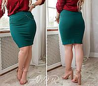 Юбка женская большие размеры (цвета) СЕР1223, фото 1