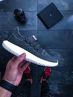 Женские кроссовки adidas Tubular Shadow W shoes olive white (РЕПЛИКА)