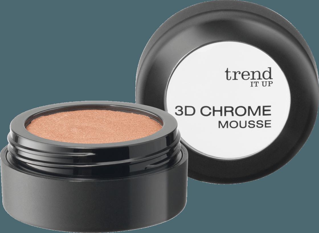 Тени для век trend IT UP 3D Chrome Mousse 010, 2,5 g