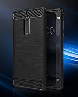 Чехол PRIMO Carbon Fiber Series для Nokia 5 - Black, фото 1