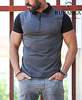 Мужская брендовая футболка поло RUBASKA 2018 - RSK-4102