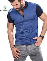 Мужская брендовая футболка поло RUBASKA 2018 - RSK-4103