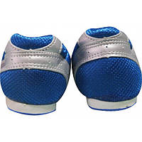 Шиповки Gaofeng серебристо-синие