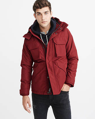 Куртка Abercrombie & Fitch Midweight Technical Jacket