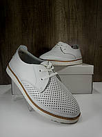 Летние женские туфли ALLSHOES 6901-1к бел, фото 1